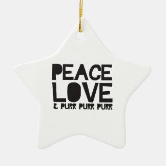 平和愛及びのどを鳴らす音ののどを鳴らす音ののどを鳴らす音 セラミックオーナメント