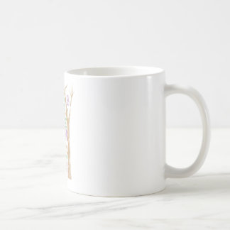 平和愛及びSupergirl力 コーヒーマグカップ