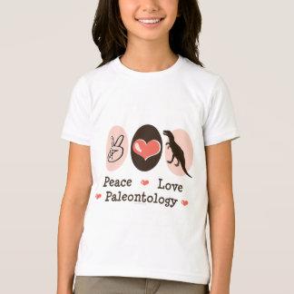 平和愛古生物学は信号器のTシャツをからかいます Tシャツ