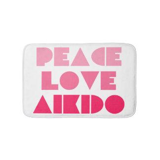 平和愛合気道 バスマット