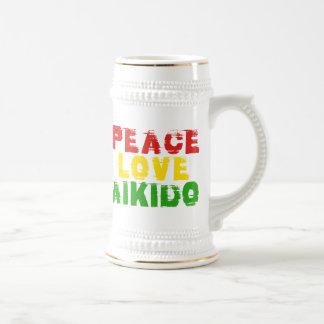 平和愛合気道 ビールジョッキ