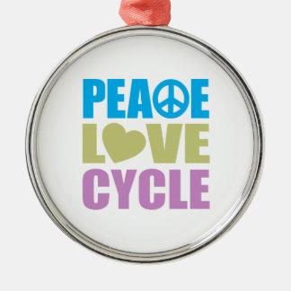 平和愛周期 メタルオーナメント