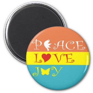 平和愛喜び マグネット