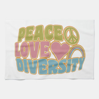 平和愛多様性の台所タオル キッチンタオル