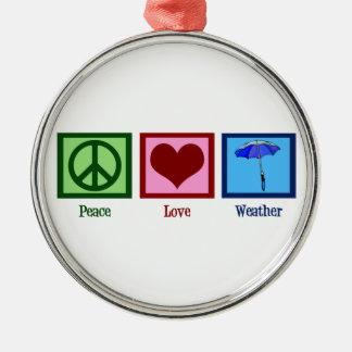 平和愛天候 メタルオーナメント