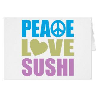 平和愛寿司 カード