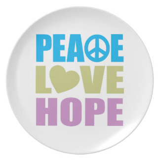 平和愛希望 プレート
