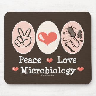 平和愛微生物学のマウスパッド マウスパッド