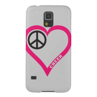 平和愛応援の電話箱はカスタマイズ GALAXY S5 ケース