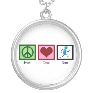 平和愛操業 シルバープレートネックレス