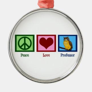 平和愛教授 メタルオーナメント
