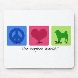 平和愛柴犬 マウスパッド