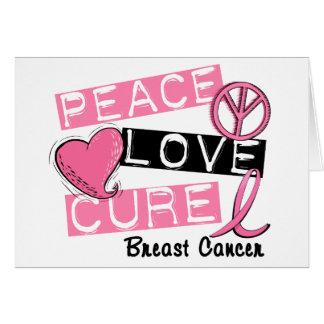 平和愛治療の乳癌 カード