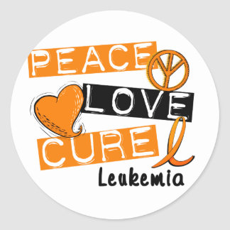 平和愛治療の白血病 ラウンドシール