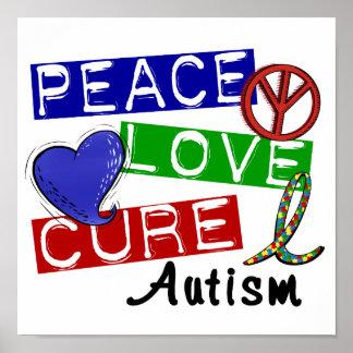 平和愛治療の自閉症 ポスター