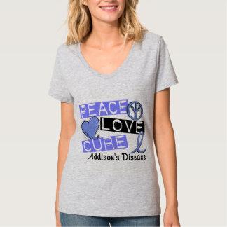 平和愛治療のAddisonの病気 Tシャツ