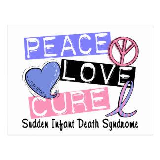 平和愛治療SIDSの乳幼児突然死症候群 ポストカード