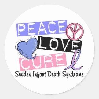 平和愛治療SIDSの乳幼児突然死症候群 ラウンドシール