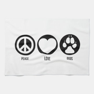 平和愛犬 キッチンタオル