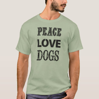 平和愛犬 Tシャツ