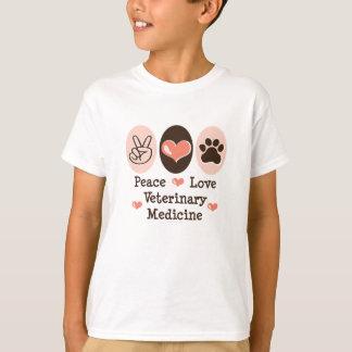 平和愛獣医学の子供のTシャツ Tシャツ