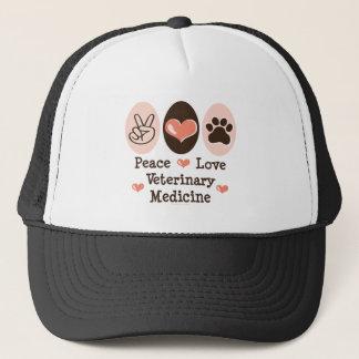 平和愛獣医学の帽子 キャップ