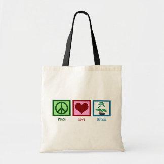 平和愛盆栽 トートバッグ
