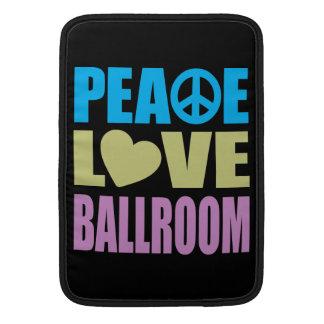平和愛社交ダンス MacBook スリーブ