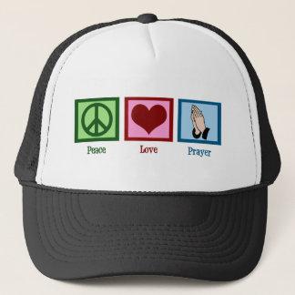平和愛祈りの言葉 キャップ