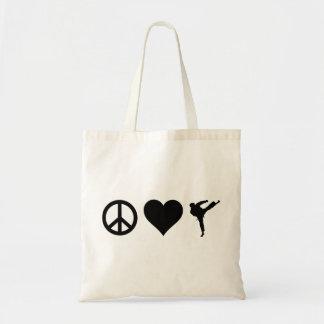 平和愛空手 トートバッグ