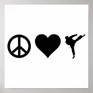 平和愛空手 ポスター