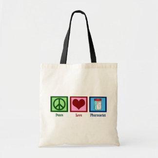 平和愛薬剤師 トートバッグ