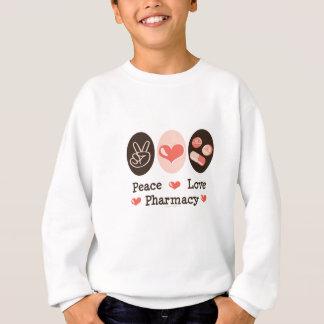 平和愛薬学はスエットシャツをからかいます スウェットシャツ