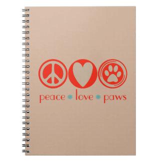 平和愛足 ノートブック