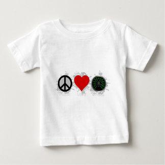 平和愛速度の紋章1 ベビーTシャツ