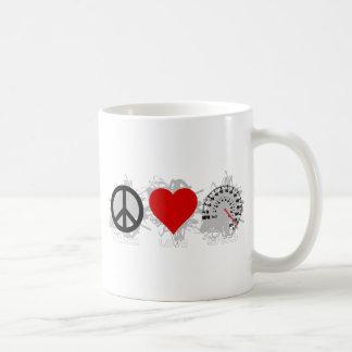 平和愛速度の紋章2 コーヒーマグカップ
