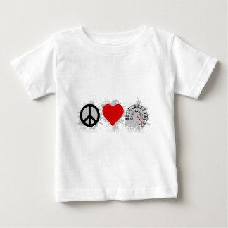 平和愛速度の紋章2 ベビーTシャツ