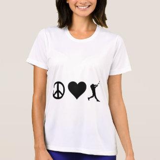 平和愛野球 Tシャツ