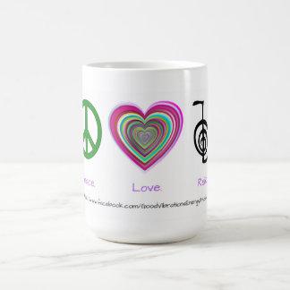 平和愛霊気のマグ コーヒーマグカップ
