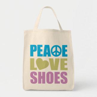 平和愛靴 トートバッグ