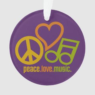 平和愛音楽カスタムなオーナメント オーナメント