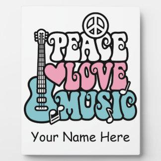 平和愛音楽 フォトプラーク
