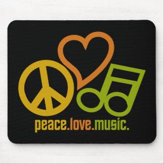 平和愛音楽mousepad マウスパッド