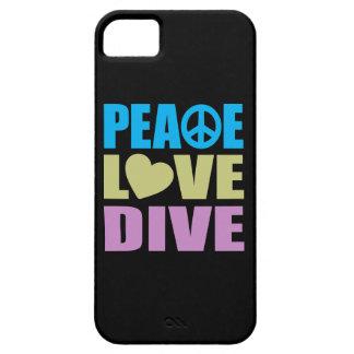 平和愛飛び込み iPhone SE/5/5s ケース