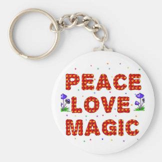平和愛魔法 キーホルダー
