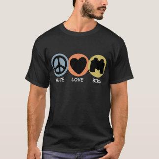 平和愛鳥 Tシャツ