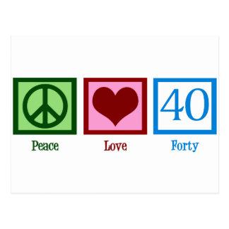平和愛40 ポストカード