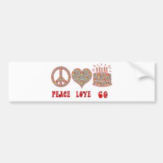 平和愛60 バンパーステッカー
