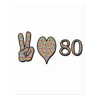 平和愛80 はがき