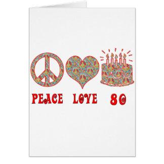 平和愛80 カード